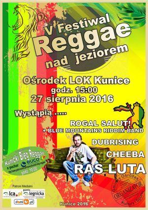 plakat reggae