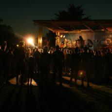Ras Luta na scenie Festiwalu Reggae Nad Jeziorem