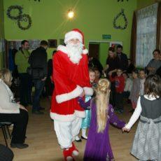 Mikołaj odwiedził dzieci w Grzybianach
