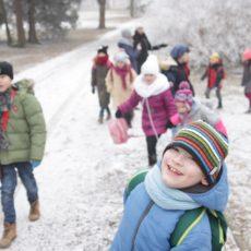Trwają półkolonie zimowe z GOKiS Kunice