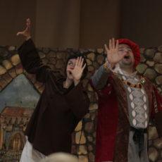 Teatrzyk Blaszany Bębenek wystąpił w GOKiS Kunice