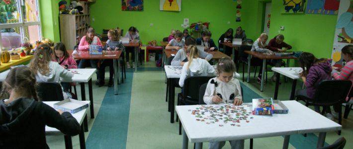 Mistrzostwa gminy w układaniu puzzli