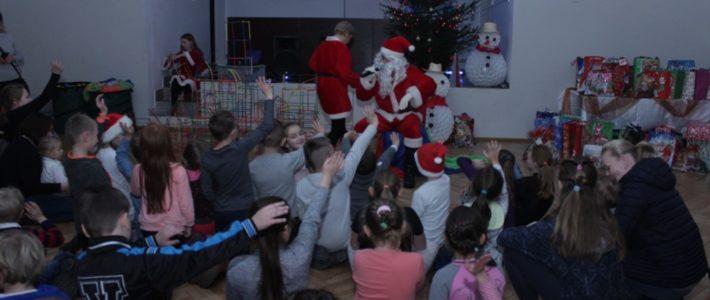 Święty Mikołaj z wizytą w Spalonej