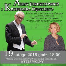 Koncert Anny Jurksztowicz i Krzesimira Dębskiego