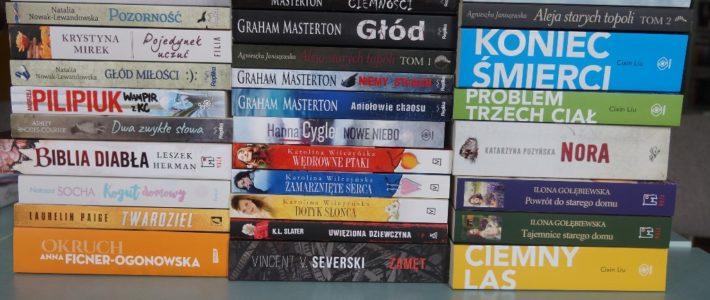 Nowe książki w bibliotece WOK Rosochata