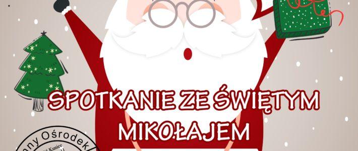 Spotkanie ze Świętym Mikołajem w Spalonej