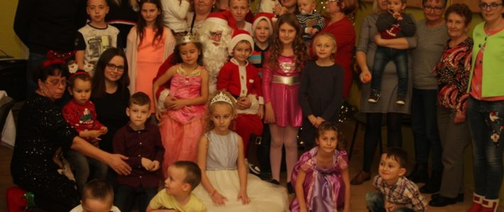 Mikołaj spotkał się z dziećmi w Grzybianach