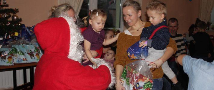 Szczytniki Nad Kaczawą odwiedził Święty Mikołaj