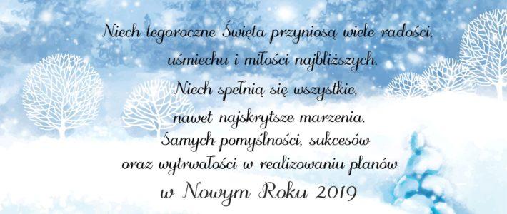Wesołych Świąt życzy GOKiS Kunice