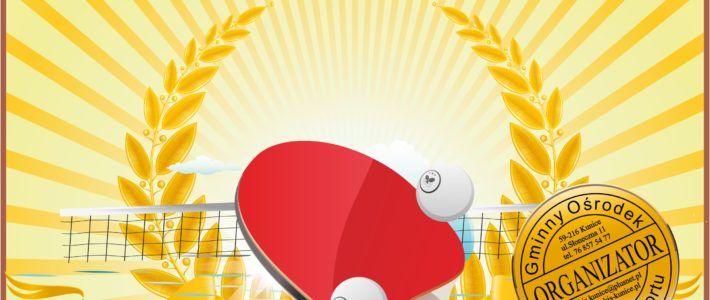 Mistrzostwa Gminy Kunice w tenisie stołowym już w niedziele