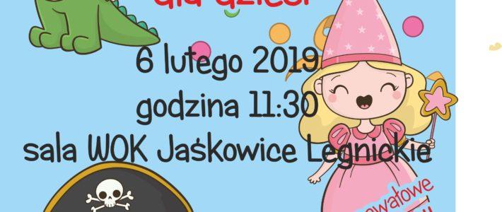 Zabawa Karnawałowa dla dzieci w Jaśkowicach