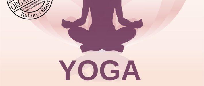 Zajęcia z yogi z Szczytnikach Małych