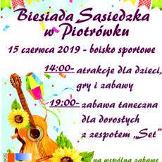 Biesiada sąsiedzka w Piotrówku