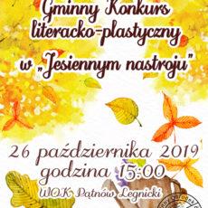 """Konkurs literacko-plastyczny w """"Jesiennym nastroju"""""""