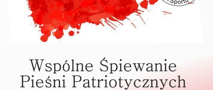 Wspólne Śpiewanie Pieśni Patriotycznych w Grzybianach