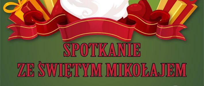 Spotkanie ze Świętym Mikołajem w Kunicach