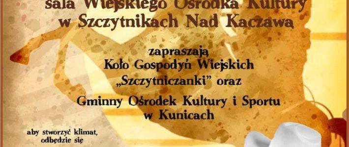 Andrzejkowe country w Szczytnikach Nad Kaczawą