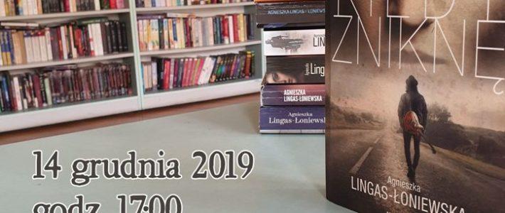 Agnieszka Lingas-Łoniewska spotka się z czytelnikami