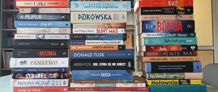 Nowe książki w bibliotece w Spalonej