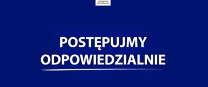 """""""Bądźmy odpowiedzialni"""" apel Wojewody Dolnośląskiego"""