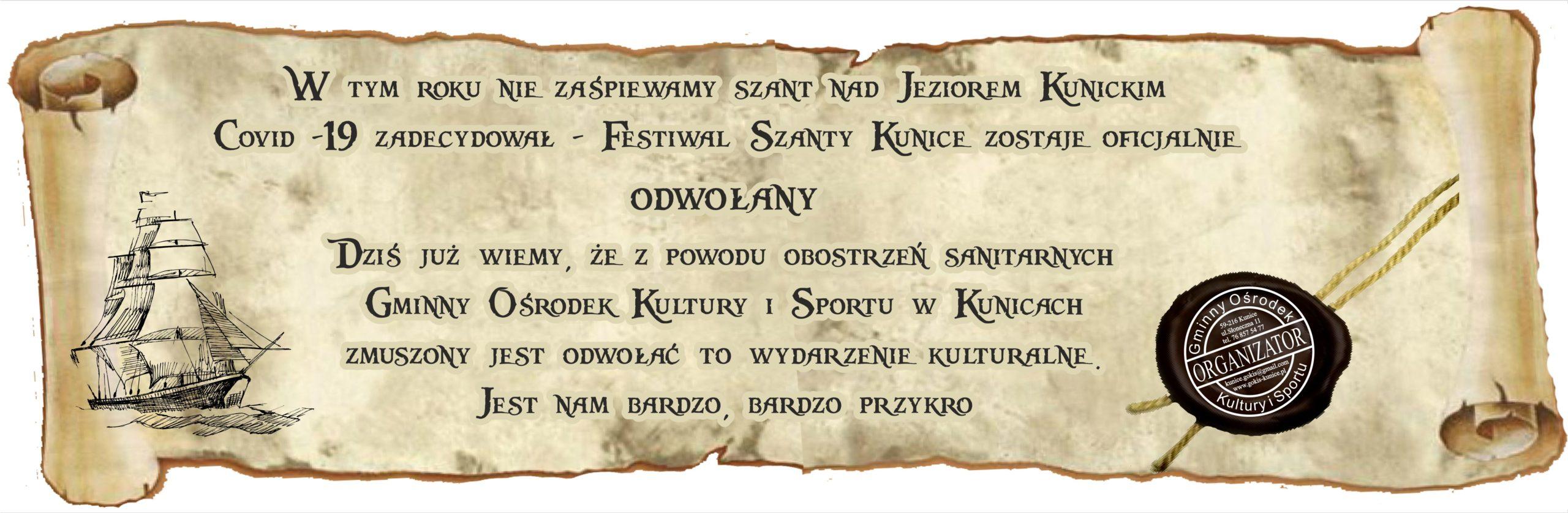 http://www.gokis-kunice.pl/2020/06/25/tegoroczne-szanty-oficjalnie-odwolane/?fbclid=IwAR0FRf7pWE-hZHo_EvO_xcZLBrpYEVEHvss9WpH6upcJFVDXm88s7KLTT6M