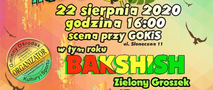 Klasyka gatunku na Festiwalu reggae nad jeziorem – zespół Bakshish