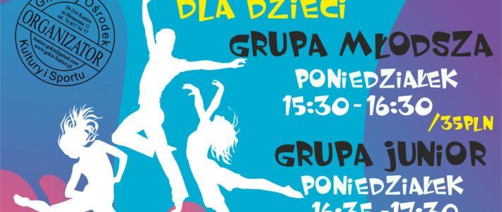 Taniec nowoczesny dla dzieci w Kunicach