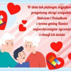 Wszystkiego najlepszego z okazji Dnia Babci i Dziadka