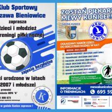 Nabory do klubów piłkarskich w gminie Kunice