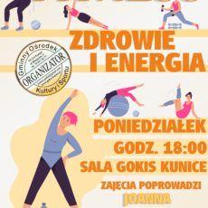 """Fitness """"Zdrowie i energia"""" w GOKiS Kunice"""