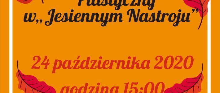 """Gminny Konkurs w """"Jesiennym nastroju"""""""