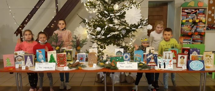 Rozstrzygnięcie konkursu na najpiękniejszą kartkę Świąteczno-noworoczną
