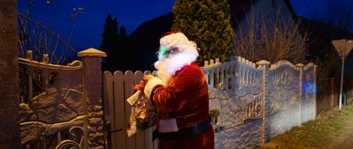 Święty Mikołaj odwiedził Szczytniki Nad Kaczawą oraz Piotrówek