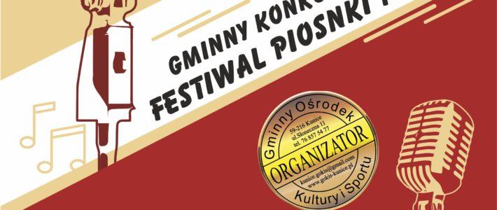 Gminny Konkurs Wokalny Festiwal Piosenki Polskiej
